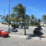 From the pool looking toward Praia do Futuro
