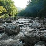 Red Creek where Red Creek Trail crosses the creek