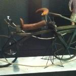 bicycle without pedal (first design around 1818)