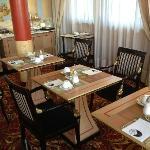 Tavoli in sala colazone