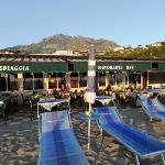 La terrazza esterna adatta per rilassarsi e gustare le nostre specialità.
