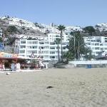 view of vistamar from beach