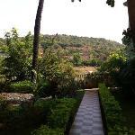 View inside the resort