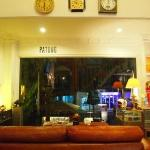 the looby/cafe