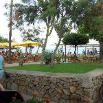 view from one of bars near beach