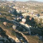fantastic balloon flight from Goreme