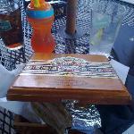 Cuban sandwich in cigar box