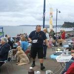 A busy day for the Teignmouth Folk Festival
