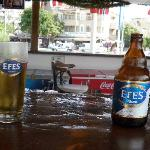 Ice Cold Efes at the pool bar - Heaven!!