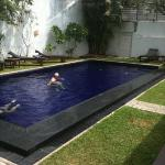 nice but small swimming pool