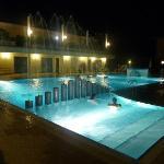 Animation de nuit à la piscine