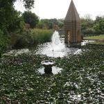 Jardín del templo de Shiva