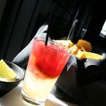Sanarita: A modern twist on a classic combination of sangria and margarita.