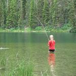Fishing Altoona Lake