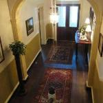 View of the foyer from the stairs
