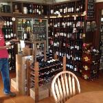 Pick your own wine or craft beer from the shop when dining. A reasonable corkage is added makin