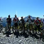 Overlooking Mont Blanc