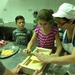 Learning to make Pasta alla Chitarra