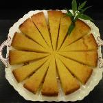 Lemon Verbena Polenta Cake-Gluten Free