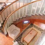 The staircase at Adonai 3