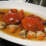 Steam crab - a bit too expensive for what it is.