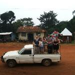 Way to go! - in Kampala Road, Kalangala, Sesse Islands - the only way to get to the training cen