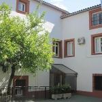 Rear courtyard of Hostal San Miguel