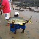 prise de pêche