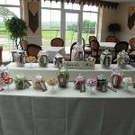 Sweetie table in the Orangery