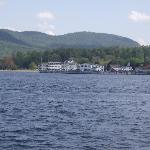 Lake George just a 5 minute walk