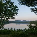 Sunset on Lake Sagamore