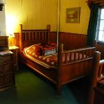 2-person guest room on 1st floor of the Main Lodge, just off the living room