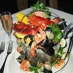 Seafood Bucket For 2: Filled with a variety of seafood & more!