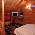 Big Cabin's main bedroom