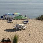 More of private beach at Sandbars
