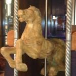 SCULPTURE OF CAROUSEL HORSE
