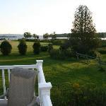Rangeley Lake ffrom the deck