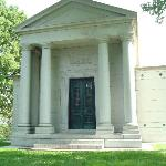 Lemp family tomb- beer barons. Largest tomb at Bellefontaine