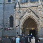 Graduates celebrate at Truo Cathedral