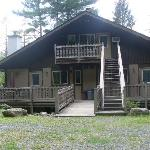 One of the lodge/chalets