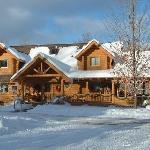 Silent Sport Lodge in Winter Splendor