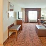 Get some work done or kick back and watch a movie in our spacious suites.