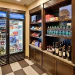 Our convenient Pavilion Pantry Market is open 24 hours a day.