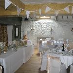 Millers room set up for wedding