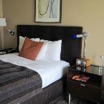 Bed, iPod docking station