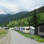 deel camping en mooi uitzicht