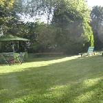 jardin magnifique et privatif