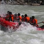 Rafting the Kicking Horse