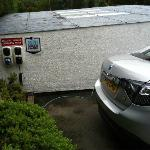 EV Charging Point in car park