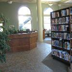 Main floor at Fernie Heritage Library